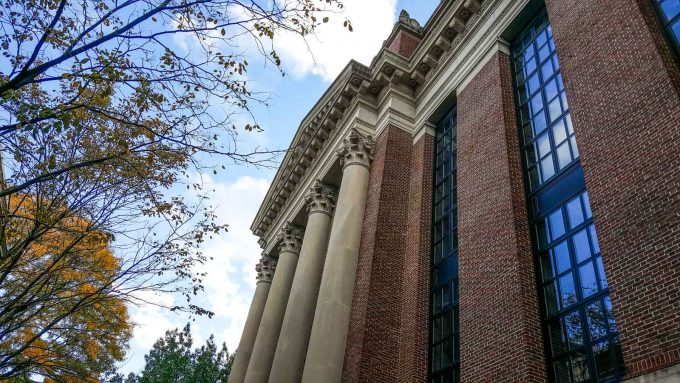 Widener Library, Harvard Yard